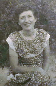 Blanche Howard Jolliff in her younger days. Photo courtesy, Ocracoke Preservation Society