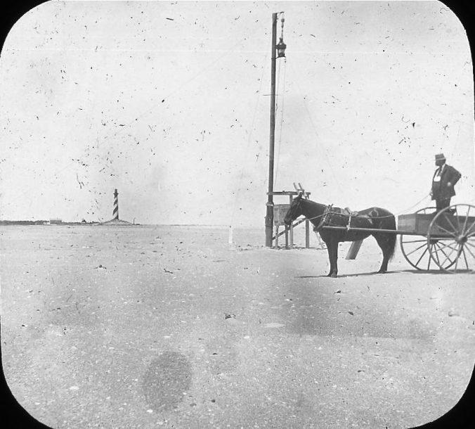 Cape Hatteras, N.C., ca 1900. Image by Albert Ross, USN. Courtesy, Linda Garey