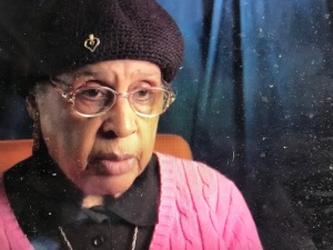 "In the documentary, Marjorie Evans, Alexander's widow, recalls that ""wherever they went, I tried to be with him, in the march and everything."" Courtesy, City of Rocky Mount and CITY TV19"