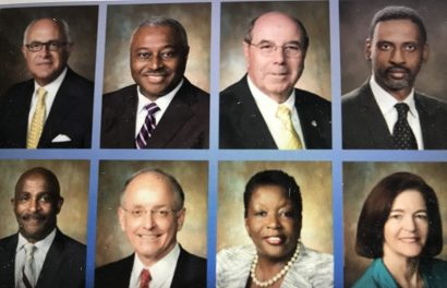 The Rocky Mount City Council today. Courtesy, City of Rocky Mount and CITY TV19