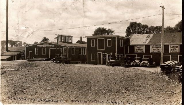F. N. Vote Planing Mill, Houlton, Maine, ca. 1928. Courtesy, Aroostook County Historical and Art Museum