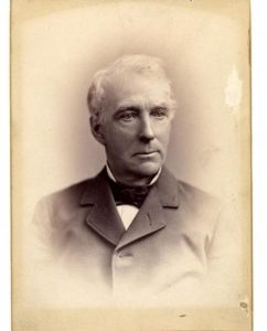 Alonzo Garcelon (1813-1906), a physician in Lewiston, Maine, was Maine's surgeon general during the Civil War. He later served as mayor of Lewiston and as the state's governor. Courtesy, Maine Historical Society