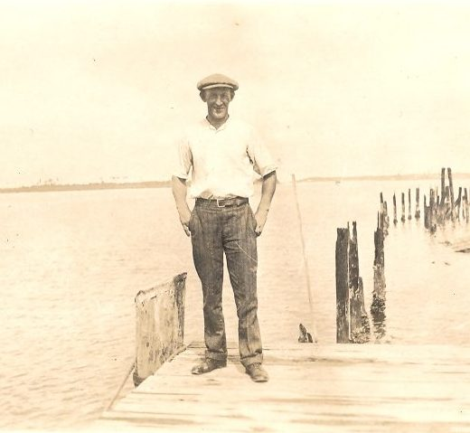 Tom Iverson, one of the Norwegian crewmen probably on both the Margaret and the Alice. Courtesy, Tom Miller, Beaufort, N.C.
