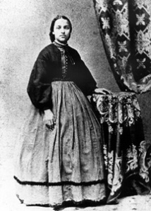 Mary Jane Patterson (1840-1894). Courtesy, Oberlin College Archives.