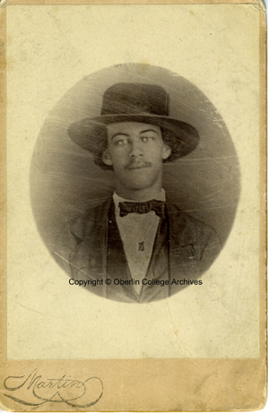 Lewis Sheridan Leary (1835-1859). Courtesy, Oberlin College Archives