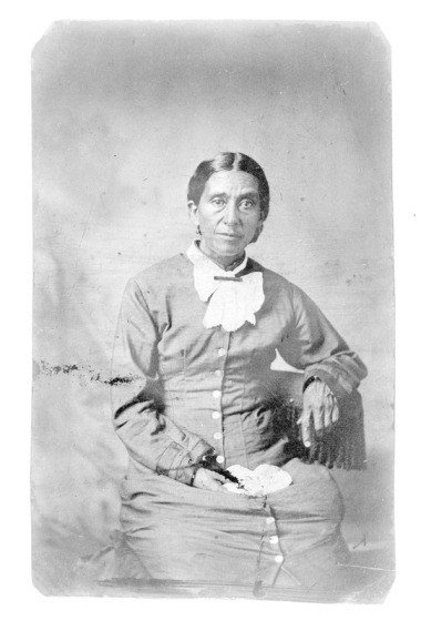 Mary Leary Patterson Langston. Courtesy, Beinecke Library, Yale University