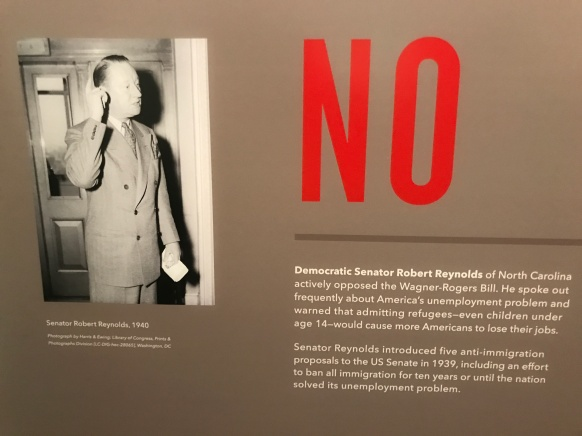 """From the """"America and the Holocaust"""" exhibit at the U.S. Holocaust Memorial Museum, Washington, DC."""