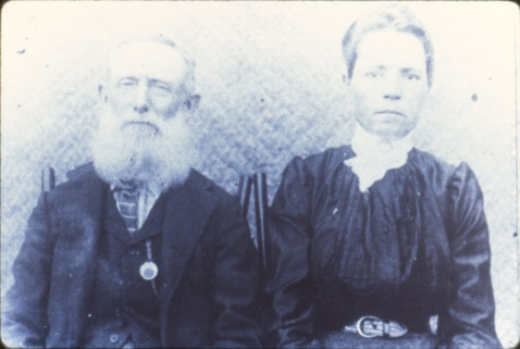 Ben Daniels and his wife. Courtesy, State Archives of North Carolina