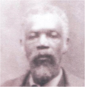Caesar Evans (1846-1928), Marion's great-great grandfather. Courtesy, Marion Evans & family