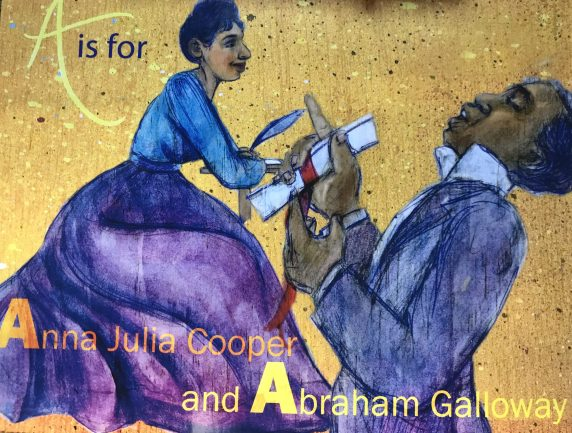 m Galloway is paired with the illustrious Anna Julia Cooper. Born into slavery in Raleigh in 1858, Cooper went on to become one of the great African American scholars and Black Liberation activists of her day.