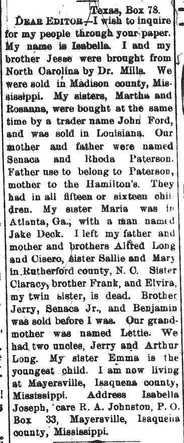 Southwestern Christian Advocate, 2 Feb. 1882