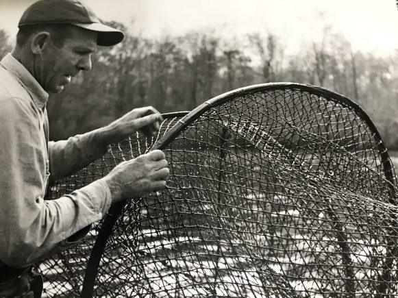Roanoke River, probably near Jamesville, ca. 1950. Courtesy, Jack Dudley