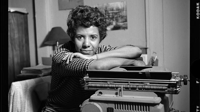 Lorraine Hansberry ca. 1959. From Playbill, June 6 2020
