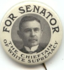 Campaign button for Furnifold Simmons. Courtesy, N.C. Museum of History