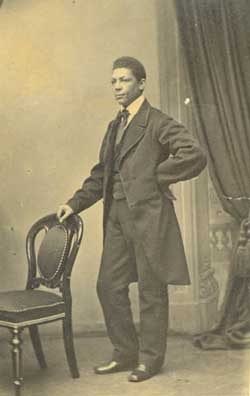 The Rev. J. Sella Martin was born into slavery in Charlotte, N.C. in 1832. Courtesy, Massachusetts Historical Society