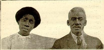 The Rev. William H. Robinson and his daughter Marguerite. From Rev. W. H. Robinson, From Log Cabin to the Pulpit; or 15 Years in Slavery, 3rd ed.