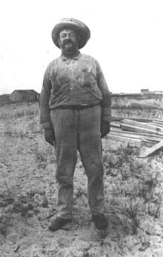 Russell Coles, Cape Lookout, N.C., 1915. Courtesy, Walter Coles, Sr., Coles Hill, Va.