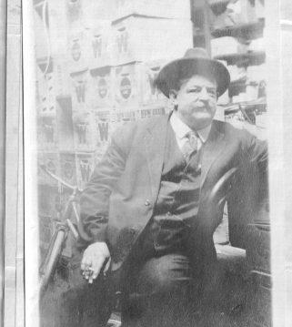 Russell Coles at his office in Danville, Va., ca. 1920. Courtesy, Walter Coles, Sr., Coles Hill, Va.