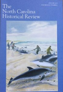 You can find my article on the Wm. F. Nye Co.'s bottlenose dolphin fishery on Hatteras Island in the Jan. 2015 issue of the North Carolina Historical Review.
