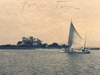 View of the U.S. Biological Station on Pivers Island, Beaufort, N.C., 1902. From the U.S. Fish Commission, Archives Center, National Museum of American History