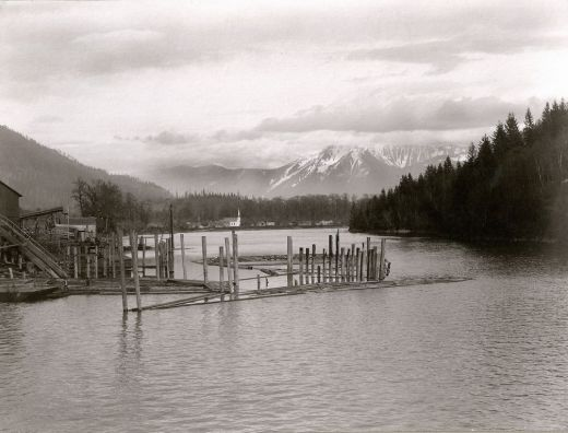 Harrison Mills ca. 1920. Courtesy, Fraser Historical Society