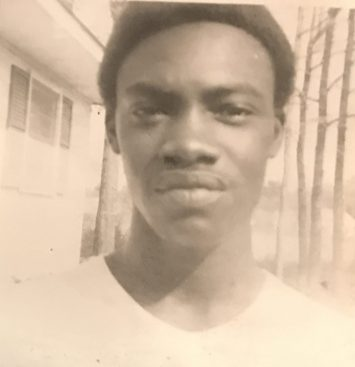 A young Chris Johnson, Ernul, N.C., ca. 1966. Courtesy, Chris Johnson