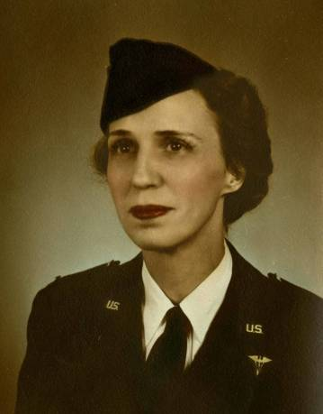 Wilmington resident Katherine Rehder (1903-1964) was a captain in the U.S. Nurses Corps during World War II. Photo courtesy, New Hanover County Public Library, NC Room. Identifier #00.445
