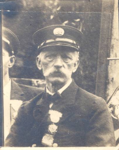 Peter Nichols Fick (1853-1914) was one of many German immigrants that settled in Wilmington in the mid-1800s. He was a fireman for the City of Wilmington for 17 years. Courtesy, New Hanover Co. Public Library, NC Room. Identifier #137