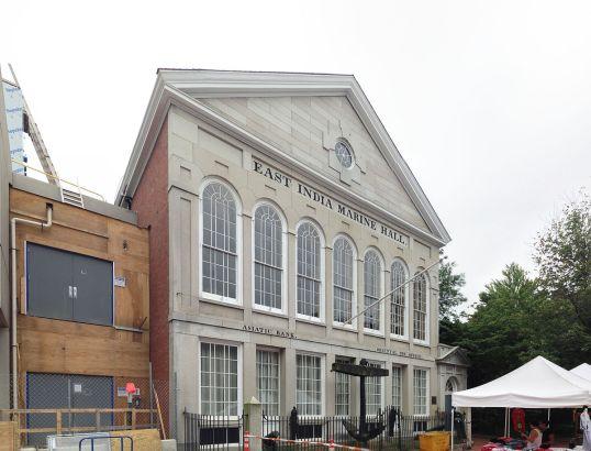 East India Marine Hall, Salem, Mass. Courtesy, Peabody Essex Museum