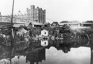 Central Prison ca. 1900. Courtesy, State Archives of North Carolina