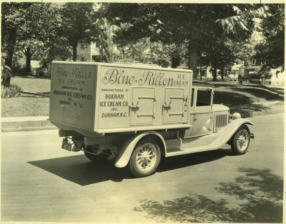 Hackney-built refrigerated truck, Durham, N.C., ca. 1930. Courtesy, NC Collection, Barton College