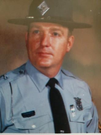 Trooper Edwards, 1984. Courtesy, Mr. Edwards