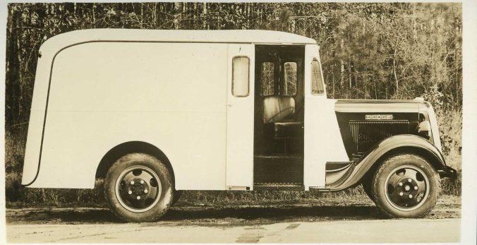 Hackney Model D37-245-R Model Milk Delivery Body, undated. Courtesy, NC Collection, Barton College