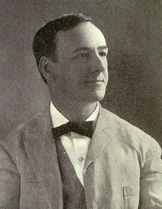 A photograph of Josephus Daniels published in The National Magazine in 1911. Daniels is best remembered today as one of the leaders of the white supremacy campaign of 1898. At that time, he was publisher of the state's largest newspaper, TheNews & Observer in Raleigh.He later served as the Pres. Woodrow Wilson's Secretary of the Navy during World War I.
