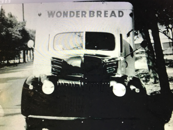 A delivery truck that the Hackney Co. built for the Continental Baking Co., the maker of Wonder Bread, 1947. Courtesy, NC Collection, Barton College