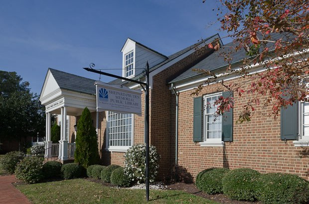 """According to his entry in The Dictionary of North Carolina Biography, the name of the """"Shepard-Pruden Memorial Library in Edenton recognizes [William Dosey Pruden's] contributions to the community."""" Courtesy, Visit Edenton"""