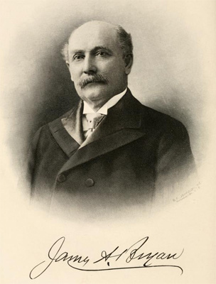 James A. Bryan, ca. 1916. From Leonard Wilson, Makers of America, vol. 2 (1916)