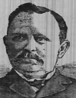 William A. Guthrie (1846-1916) was a leading tobacco industry attorney in Durham, N.C., and the Populist Party's candidate for governor in 1896. From Raleigh News & Observer, 14 Aug. 1896.