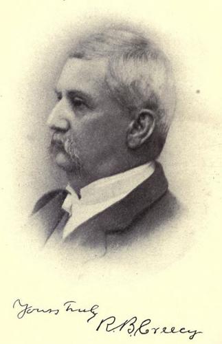 Richard Benbury Creecy (1813-1908). From Grandfather's Tales of North Carolina (Raleigh, 1901)