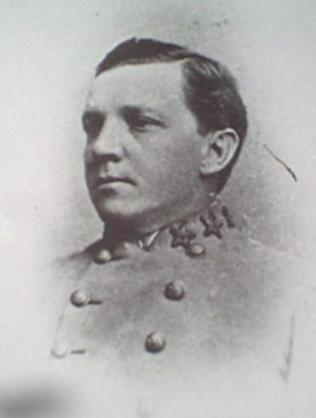 Confederate Brig. Gen. William Paul Roberts (1841-1910). Image from Confederate States History vol. 4 (1899)