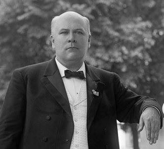 Robert B. Glenn, one of the state's leading white supremacistis, was elected governor of North Carolina in 1904. Courtesy, Library of Congress.