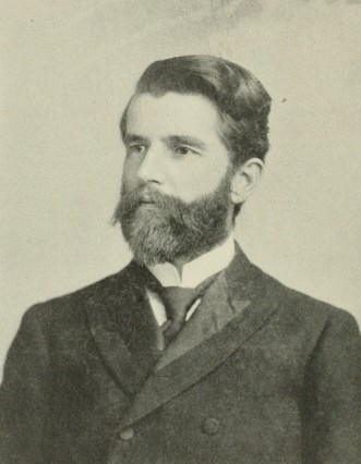 """Sen. Marion Butler was an attorney and farmer from Sampson County, N.C. He was a leading Farmers Alliance activist and played a key role in advocating for the """"Fusion"""" alliance of the Populists and Republicans in North Carolina in 1894. Photo from Wikipedia (unattributed)"""