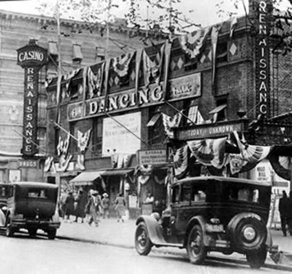 A group of African American businessmen built the Renaissance Ballroom and Casino in Harlem in 1923. Courtesy, New York Times