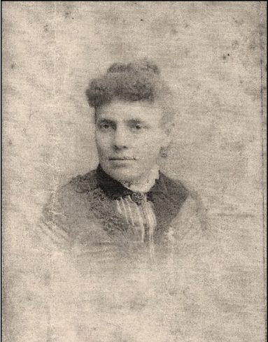 Portrait of Hannah Nelson Singleton Gilliam, Yvette Porter Moore's great-great grandmother. Born into slavery in Craven County, N.C., in 1839, she and her husband moved to Worcester, Mass., sometime before 1880. Photo courtesy, Yvette Porter Moore