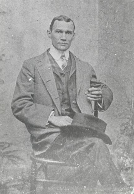 Alex Manly (here) and his brother Frank G. Manly edited and published the Wilmington Record from 1895 to 1898. At that time, the Record was North Carolina's only daily African American newspaper and was possibly the only black-owned daily in the U.S. Courtesy, J. Y. Joyner Library, East Carolina University