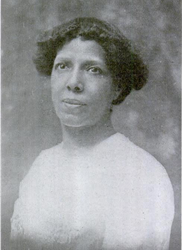"""Dr. Verina Morton Jones. From """"Along the Color Line: Suffrage,"""" The Crisis 4 (5), Sept. 1912, 215-216."""